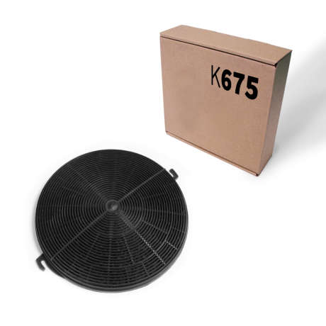 K675 - Carbon filter for premium- and pro series (MULTIxx20TC, DELTAxx20TC, VETRO, ISL)