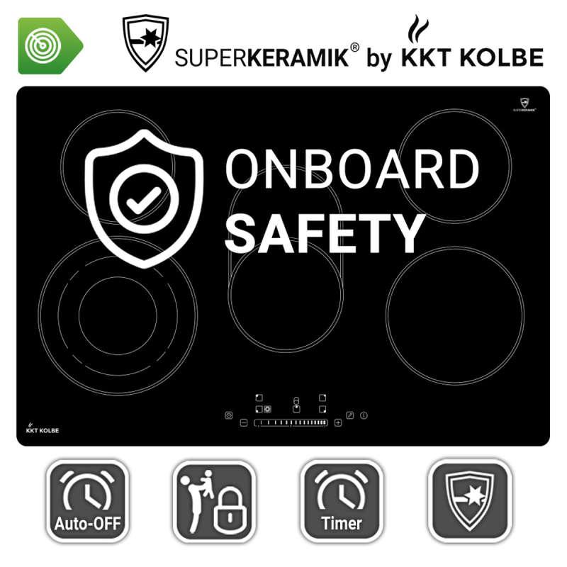 Bevorzugt KKT KOLBE KF7705RL Autark-Kochfeld, 77 cm, rahmenlos, 195,99 € YL99