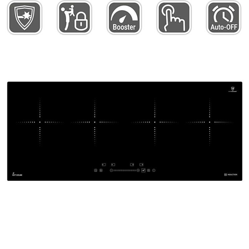 kkt kolbe ind9020rl induktionskochfeld autark 92 cm 369 00. Black Bedroom Furniture Sets. Home Design Ideas