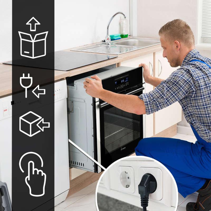 backofen und induktionskochfeld set80162fz 749 00. Black Bedroom Furniture Sets. Home Design Ideas