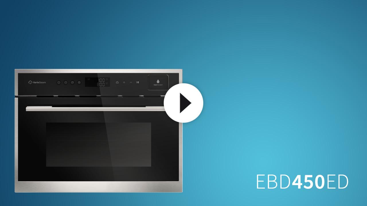 einbau multigarer dampfgarer mikrowelle und grill 45cm bauh he ebay. Black Bedroom Furniture Sets. Home Design Ideas